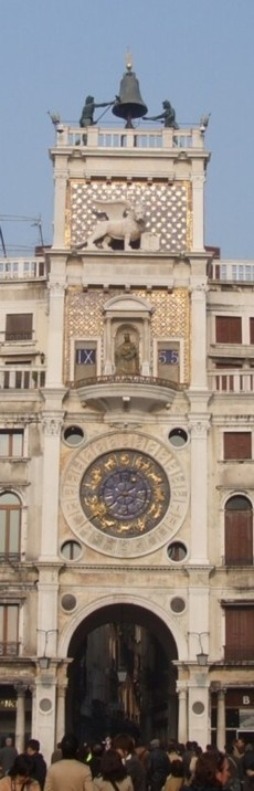 Photo:  Clock Tower of Venezia