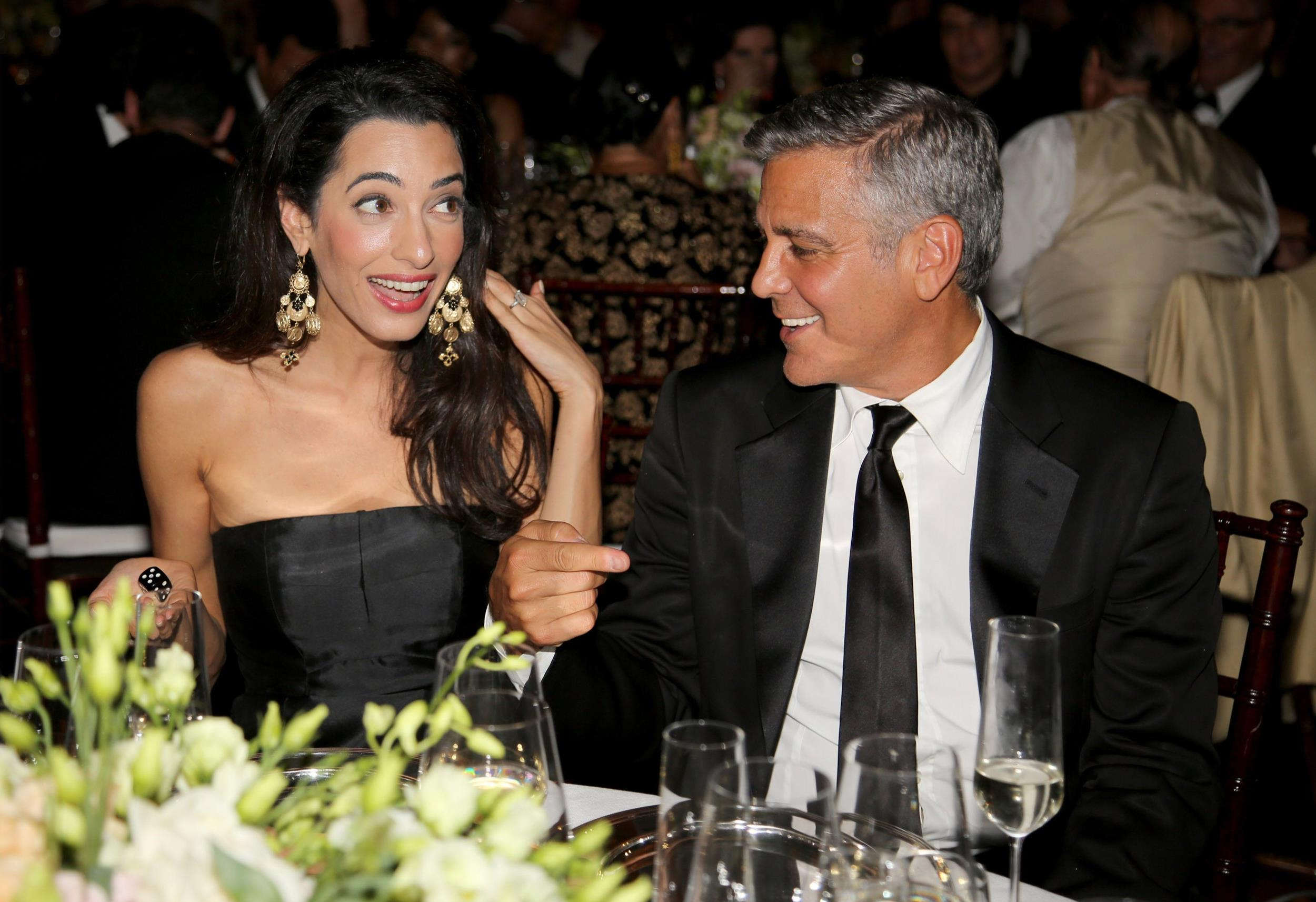 Photo:  Amal Alamuddin and George Clooney 02