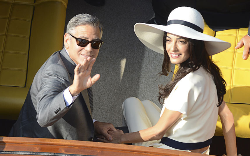 Photo:  Amal Alamuddin and George Clooney 05