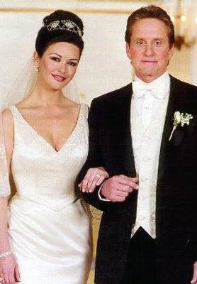 Photo:  Catherine Zeta Jones and Michael Douglas 1