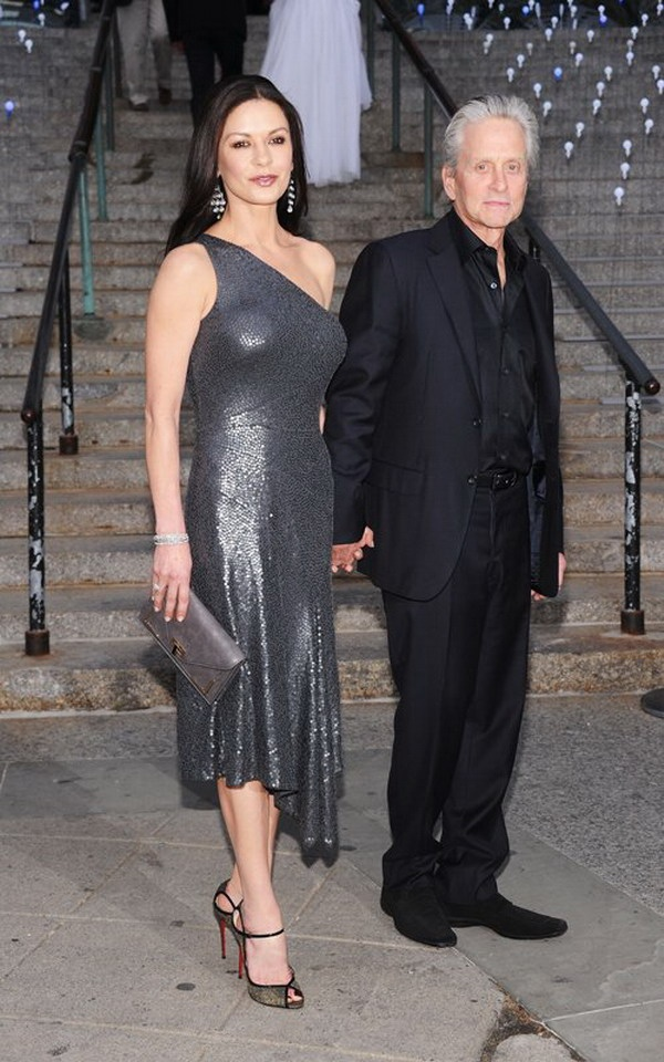 Photo:  Catherine Zeta Jones and Michael Douglas 10