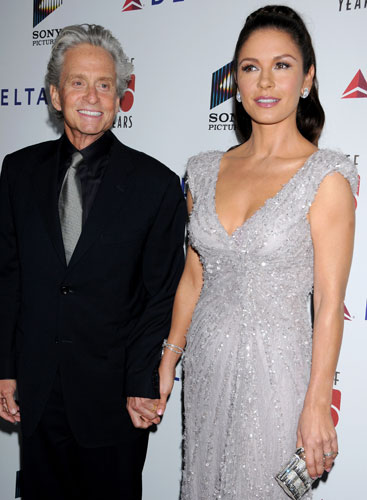 Photo:  Catherine Zeta Jones and Michael Douglas 12