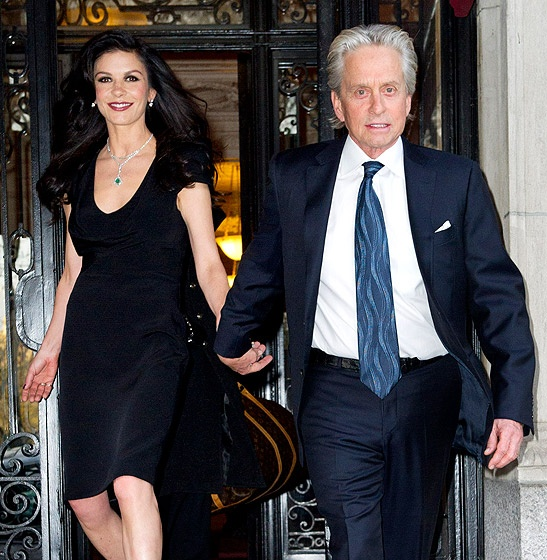 Photo:  Catherine Zeta Jones and Michael Douglas 2