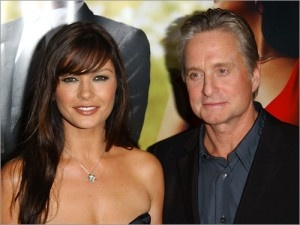 Photo:  Catherine Zeta Jones and Michael Douglas 3
