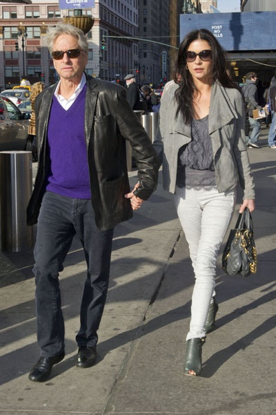 Photo:  Catherine Zeta Jones and Michael Douglas 5