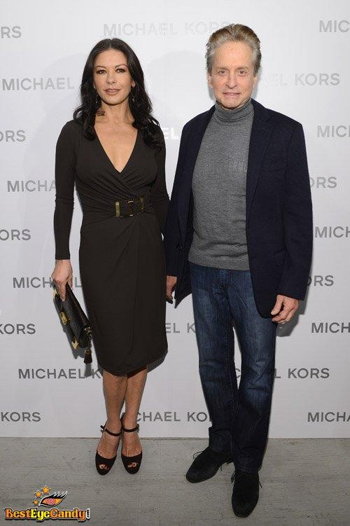 Photo:  Catherine Zeta Jones and Michael Douglas 6