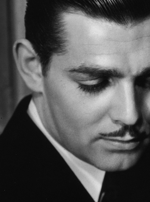 Photo:  Clark Gable, photographed by George Hurrell, 1932