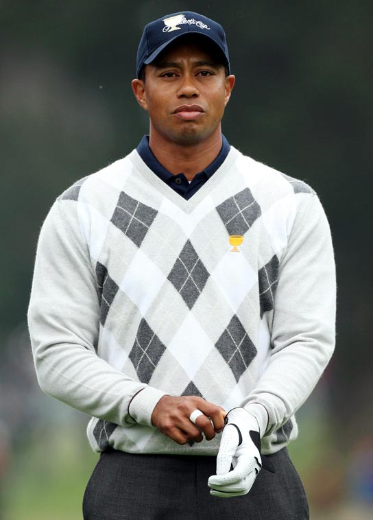 Photo:  Tiger Woods 08