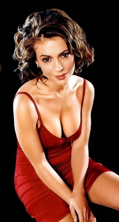 Photo:  Alyssa Milano 02