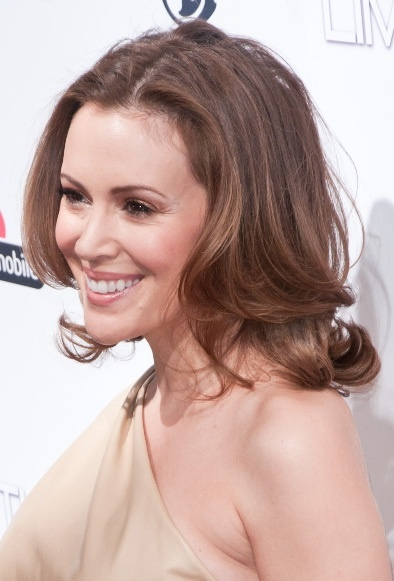 Photo:  Alyssa Milano 06