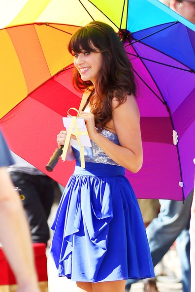 Photo:  Zooey Deschanel 3