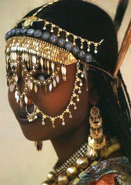Photo:  Afar tribal girl