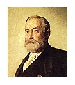 Photo:  Benjamin Harrison, 23rd President of the United States (1 term)