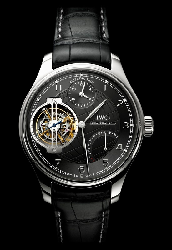 Photo:  IWC Portuguese Sidérale Scafusia (Made on special request)