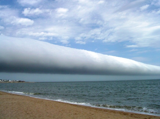 Photo:  A Roll Cloud Over Uruguay