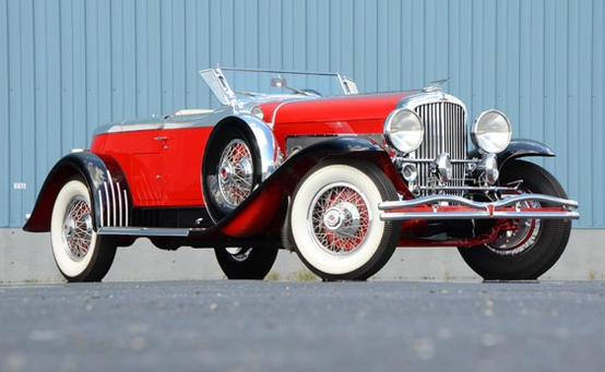 Photo:  1930 Duesenberg Boattail Speedster