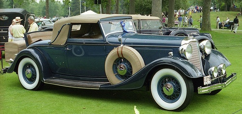 Photo:  1933 Lincoln KB Le Baron convertible
