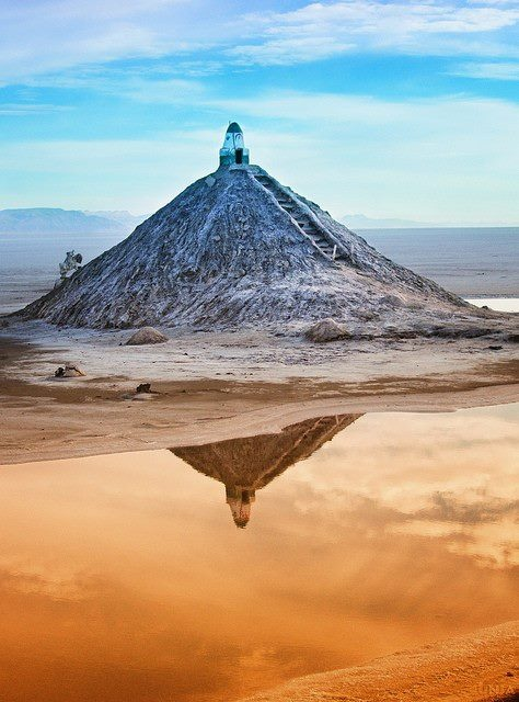 Photo:  Chott el Jerid, Tunisia