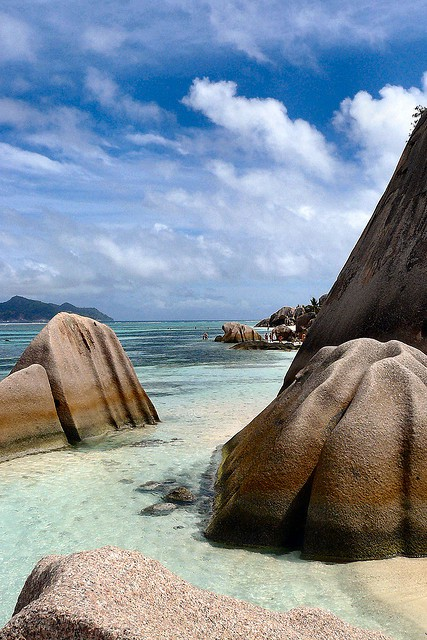 Photo:  The Seychelles Islands, in the Indian Ocean