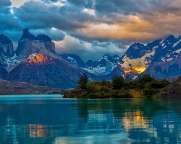 Photo:  Blue Lake, Patagonia, Argentina