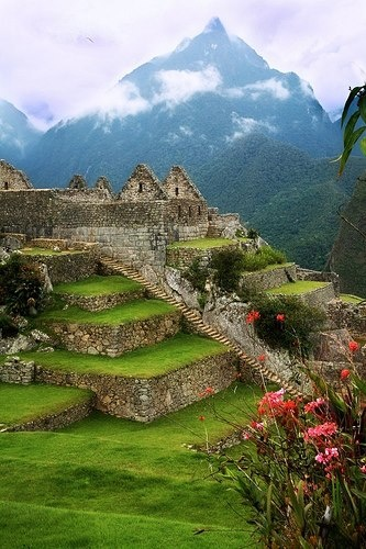 Photo:  Lost City of the Incas, Machu Pichu, Peru