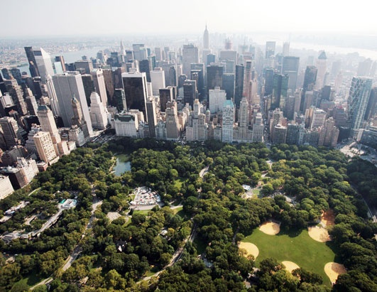 Photo:  NYC. Central Park looking south