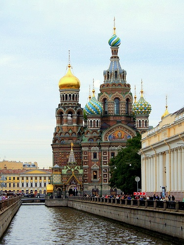 Photo:  Church of the Savior on Spilled Blood, St. Petersburg, Russia