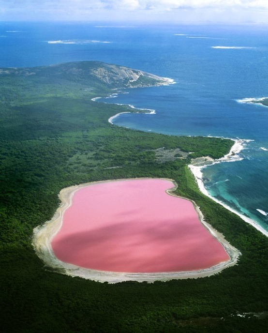Photo:  The Pink Lake