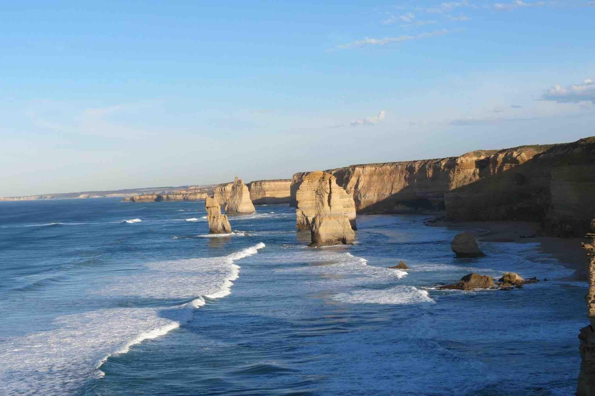Photo:  The Twelve Apostles, Great Ocean Road, Victoria, Australia