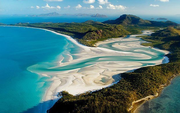 Photo:  Whitehaven Beach, Australia