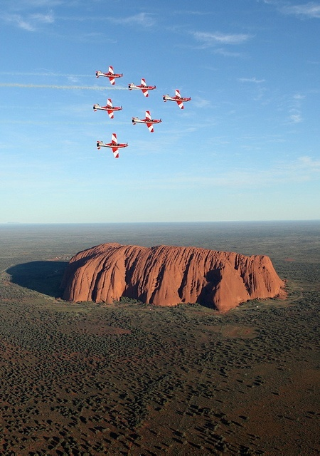 Photo:  Ayers Rock, Australia