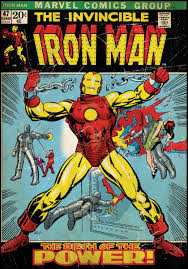Photos of Iron Man cover